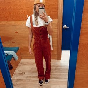 Urban Outfitters Button Front Jumpsuit
